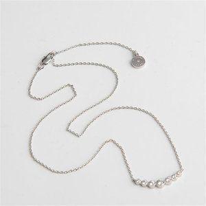 NEW Michael Kors Park Avenue Silver Necklace